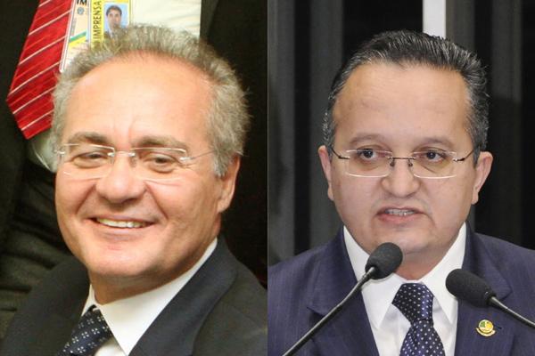 Renan Calheiro e Pedro Taques lançam candidaturas no Senado