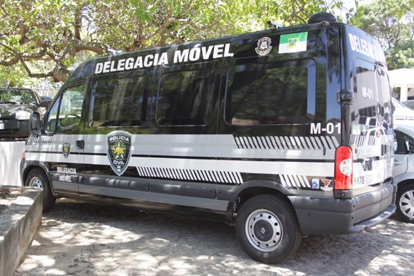Inicialmente, a Delegacia Móvel será utilizada durante o Carnaval