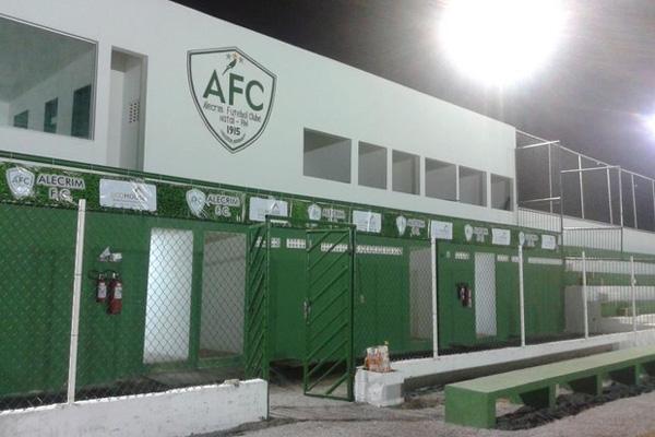 O antigo estádio Luis Rios Bacurau, em São Gonçalo, foi arrendado pelo Alecrim por cinco anos