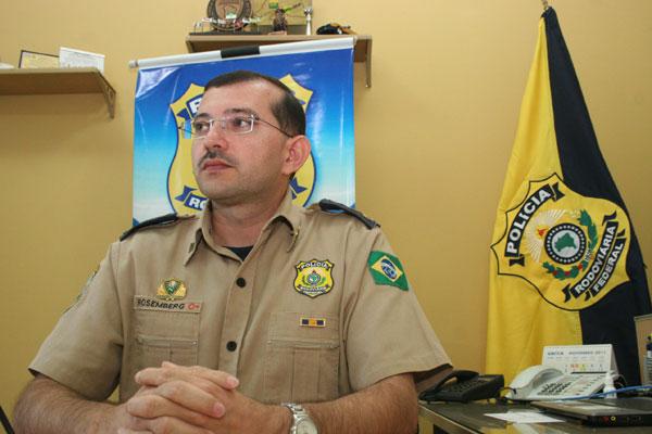Segundo o superintendente da PRF, Rosemberg Alves, o órgão deve ter concurso público no segundo semestre deste ano