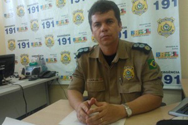 Chefe de policiamento da PRF, Djairlon Moura relatou carnaval tranquilo em todo os estado