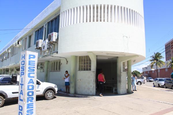 No Hospital dos Pescadores, uma das unidades vistoriadas, falta gerador e equipamentos básicos