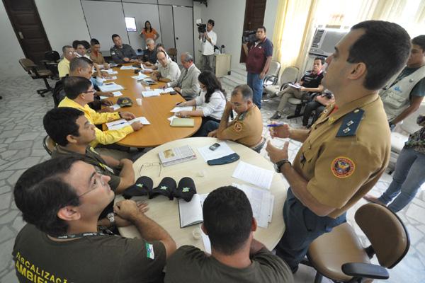 As definições da segunda vistória saíram ontem em reunião com representantes da segurança pública