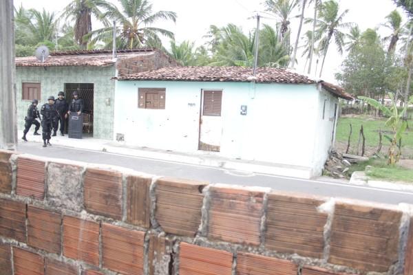 Casa onde Alexsandro  manteve jovem em cárcere privado