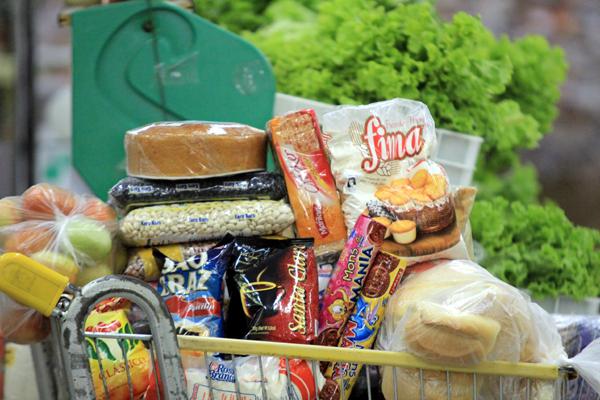Variação anual da cesta básica ficou em 14,07% em Natal