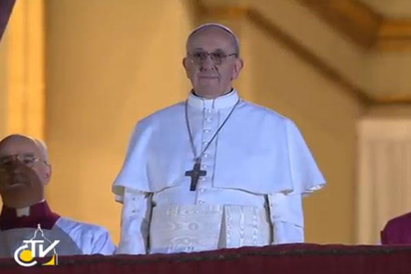 O Papa Franscico I é o primeiro papa latino da história
