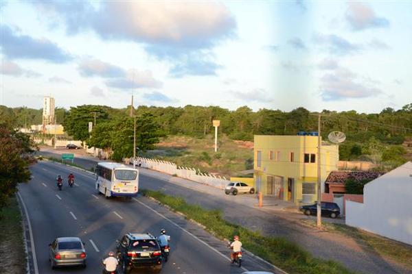 O Shopping será implantado em um terreno da Capuche, às margens da BR-101, em Emaús