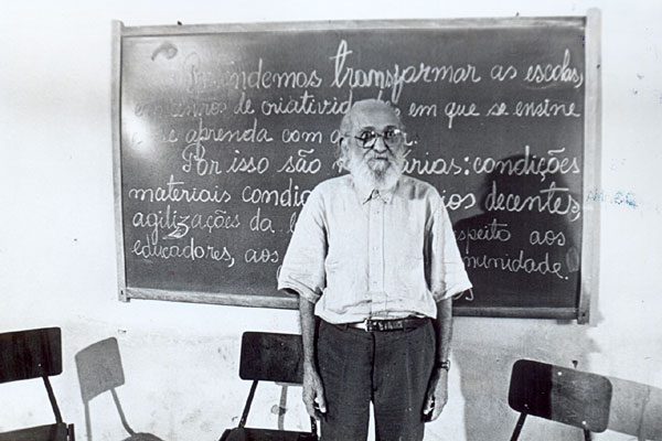 Paulo Freire voltou a Angicos em 1993, reencontrou alunos e monitores do programa