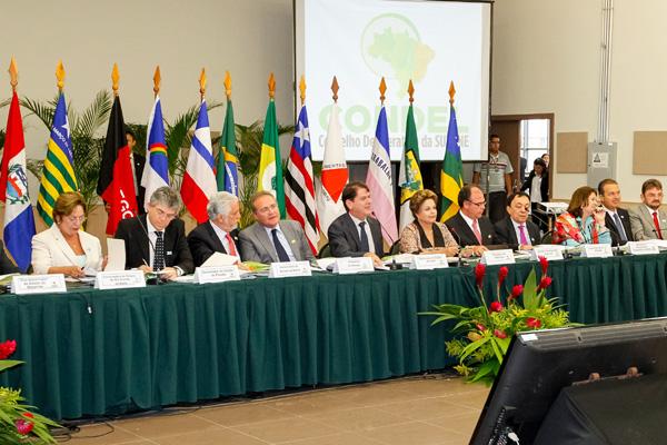 Dilma Rousseff reúne os governadores dos Estados nordestinos para definir projetos para a região