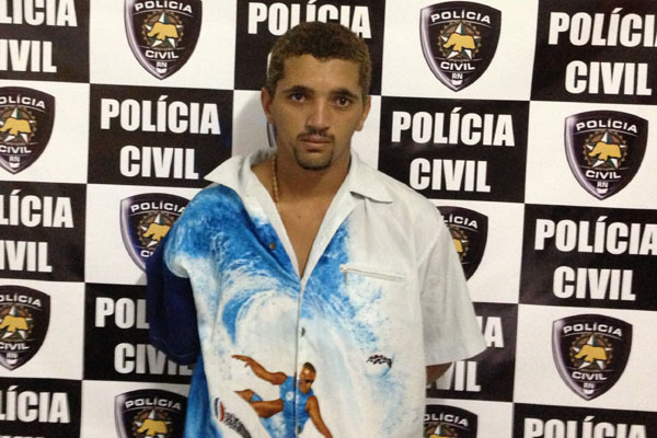 Luan da Silva Miranda é suspeito de trocar tiros com policiais civis em Goianinha