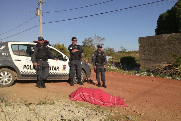 O corpo de Rodrigo Mendonça foi encontrado na rua Abel Lândia, no Planalto
