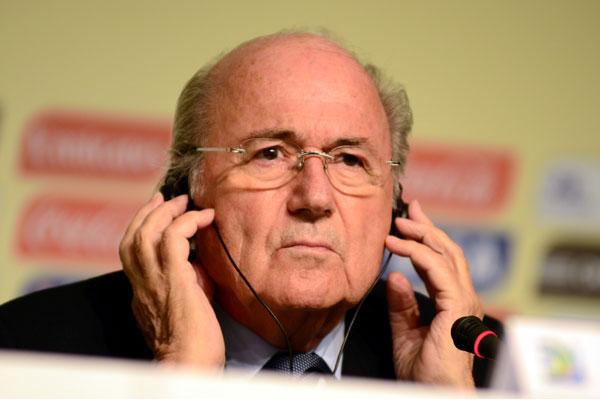 O presidente da Fifa, Joseph Blatter, divulgou o novo ranking