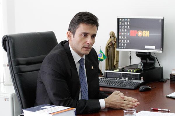 Manoel Onofre Neto é o atual procurador-geral de Justiça do RN