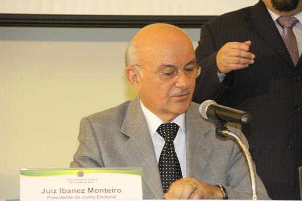 Se entrar na lista pela terceira vez, o juiz Ibanez Monteiro pode ser nomeado automaticamente
