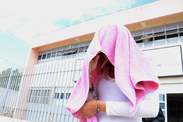 Identificada como Kilssia Carneiro, a acusada foi encaminhada ao CDP de Parnamirim na manhã de hoje (18)