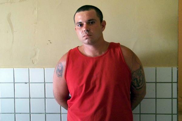 Magdiel Ferreira de Freitas, 22 anos, preso na manhã de hoje
