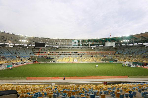 Reformado, o estádio Maracanã será palco da final da Copa das Confederações e de grandes jogos da Copa do Mundo de 2014