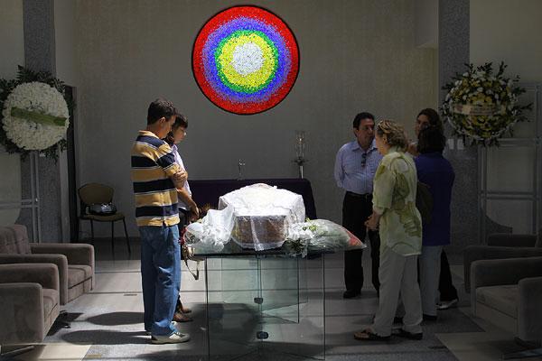 O corpo de Mailde será enterrado no Morada da Paz em Emaús às 14h