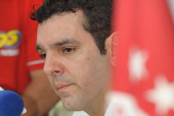 Alex Padang disse que CBF marcou vistoria no Barretão no dia 3