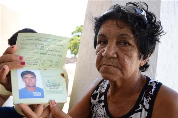 Rita Martins estava procurando pelo filho desde a sexta-feira passada