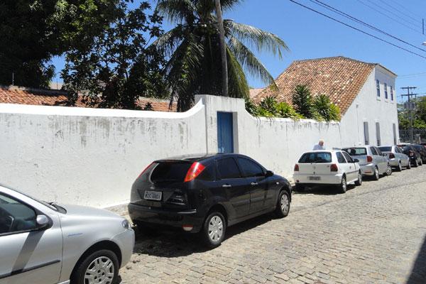 Diferente do prédio vizinho, o Iphan, o Museu Café Filho não possui cercas ou segurança eletrônica. Atualmente está sem funcionários