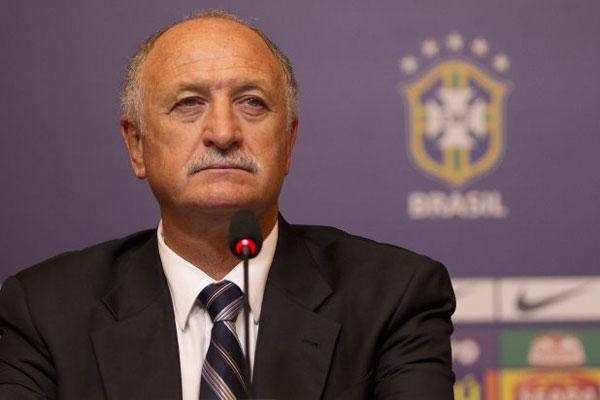 A convocação da seleção brasileira para a Copa das Confederações foi feita hoje pelo técnico Felipão, no Rio de Janeiro