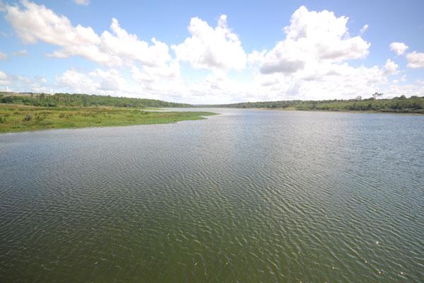 Lagoa de Extremoz: ontem, o nível de água estava em 51,01% da capacidade do reservatório