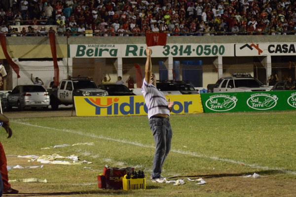 Agora eu sei como o Roberto Fernandes arma o América e passamos a ter  sucesso na marcação - Celso Teixeira, técnico do Potiguar