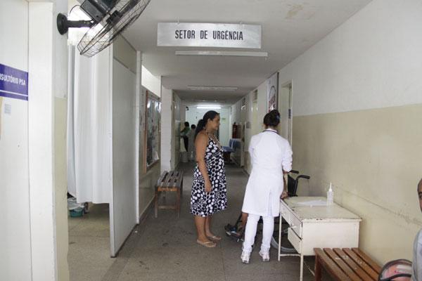 No Hospital de São José de Mipibu, duas salas de cirurgias estão prontas. Não foram abertas por falta de obstetras e anestesistas