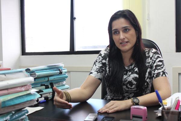 Maria Rita Manzarra, juíza e presidente da Associação Norte Rio-grandense dos Magistrados do Trabalho