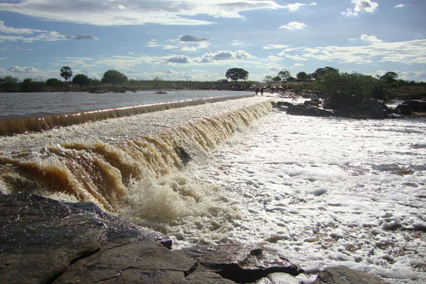 Em Campo Grande, as chuvas atingiram 654 milímetros, fazendo sangrar a barragem da Pepeta