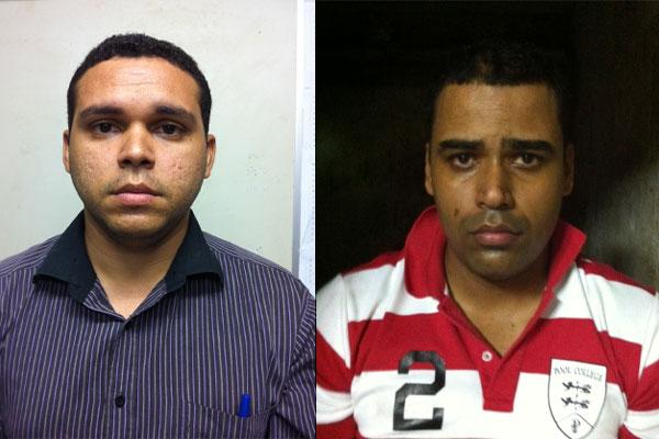 Jesaias, 26, e Cleiton, 28, aplicavam golpes em Natal utilizando dados dos clientes da OI