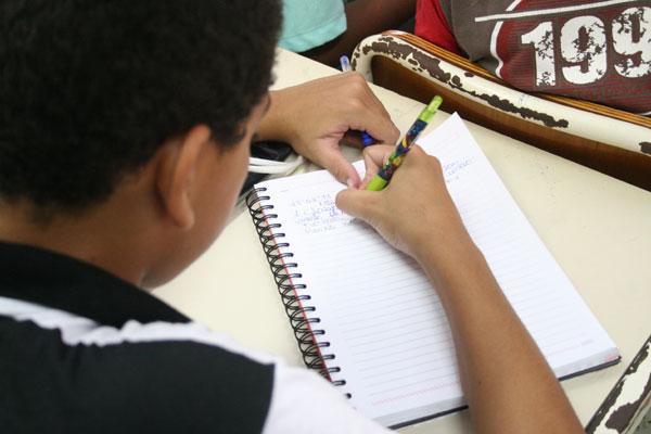 As crianças que terminam o ciclo de alfabetização, do 1º ao 3º ano do ensino básico, farão provas