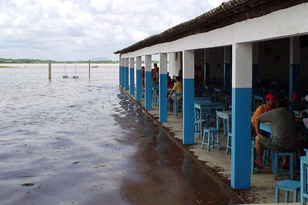 Segundo o MP, as construções irregulares ajudam para a poluição do açude mais importante de Caicó