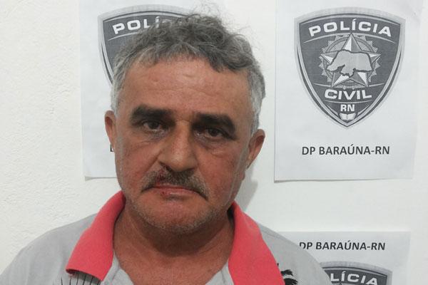 Auri do Peixe, 59 anos, é acusado de matar uma pessoa por dívida de R$ 15