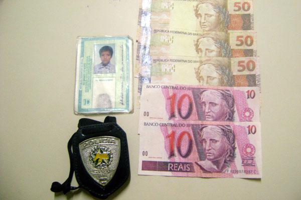 Preso confessou que as notas foram compradas em Goianinha