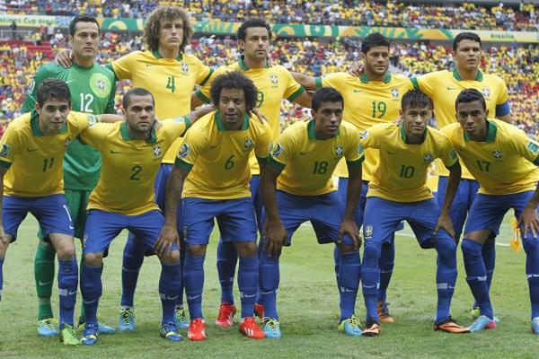 Seleção Brasileira atuará com a tradicional Amarelinha nos três jogos da primeira fase da Copa