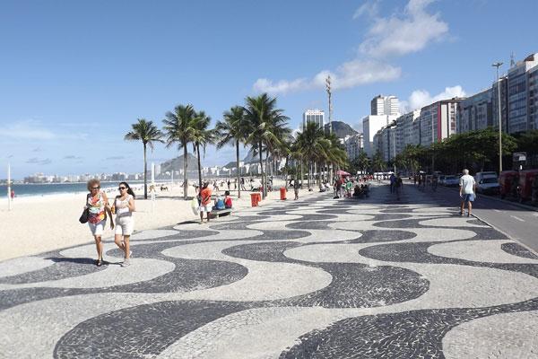 Um dos maiores eventos da programação oficial da Jornada será a Via-Sacra, que terá 14 estações na praia de Copacabana