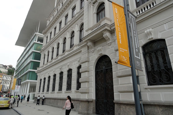 Museu de Arte do Rio-Mar foi sede do encontro internacional