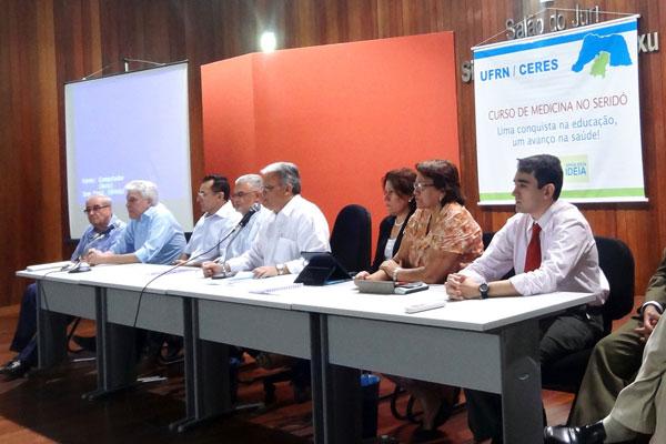 Audiência que discutiu lançamento do curso de medicina foi feita no último dia 11 de junho em Caicó