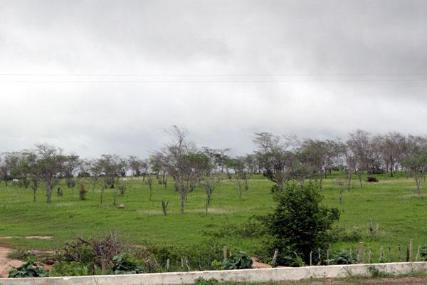 As chuvas que atingem a região Leste potiguar devem chegar também até o Agreste do estado