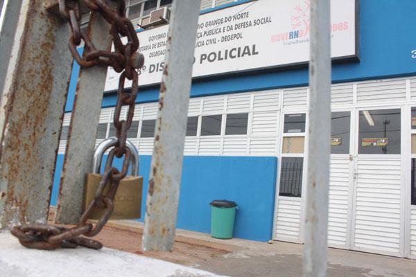 Delegacia da Cidade da Esperança esteve fechada, como as demais, devido à paralisação