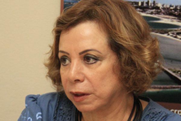 Nilza Molina, presidente do Conselho Regional de Psicologia (CRP/RN)