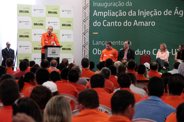 O diretor da Petrobras, José Formigli, detalhou os projetos