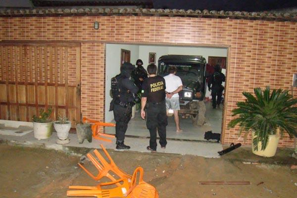 Um dos suspeitos foi detido na zona Norte de Natal