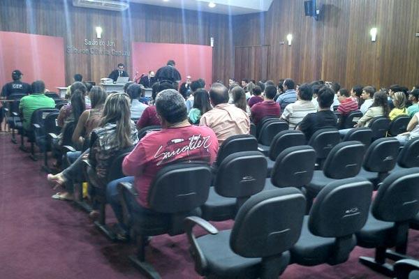 Júri de João Francisco dos Santos, o Dão, tem a presença de populares de Caicó