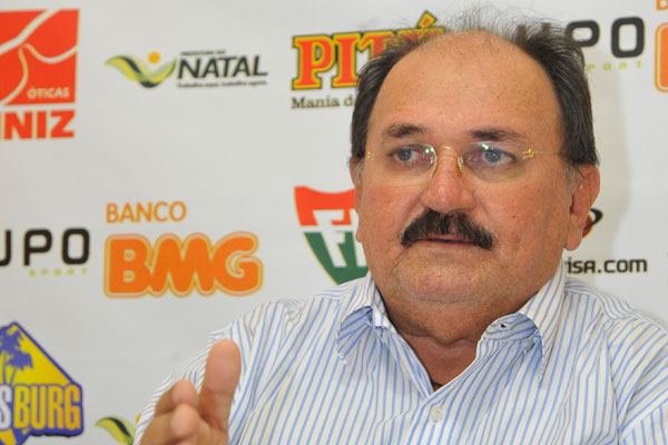 José Vanildo, presidente da Federação Norte-riograndense de Futebol (FNF)