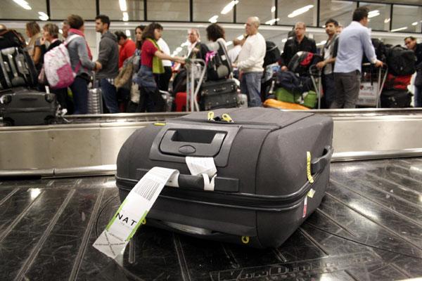 As informações sobre a bagagem será feito através de dispositivos móveis