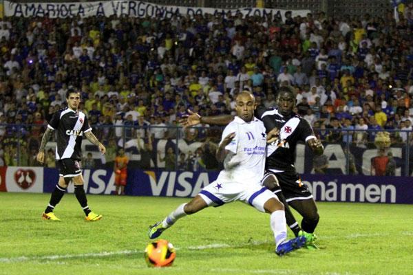 O Vasco conseguiu se impor diante do Nacional-AM e agora joga pelo empate na partida de volta