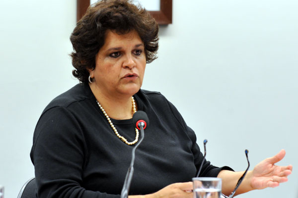 A ministra do Meio Ambiente, Izabella Teixeira, proferiu palestra na 18ª edição do Motores do Desenvolvimento do RN